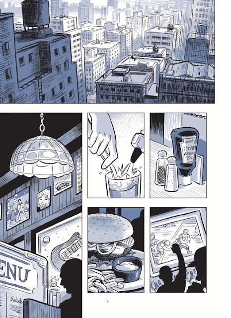Le Sculpteur page 8 aux éditions Rue de Sèvres