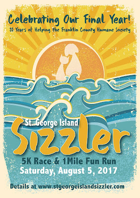 2017 Saint George Island Sizzler logo