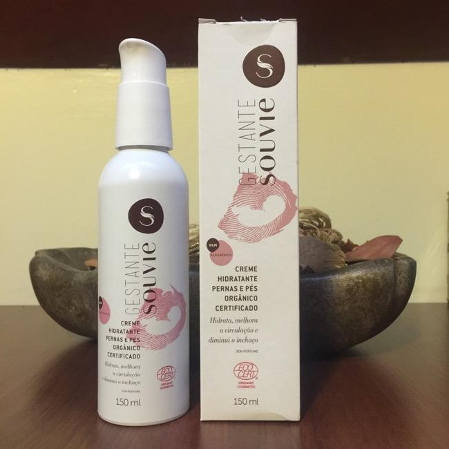 Gestante Souvie - Creme Hidratante Pernas e Pés Orgânico Certificado