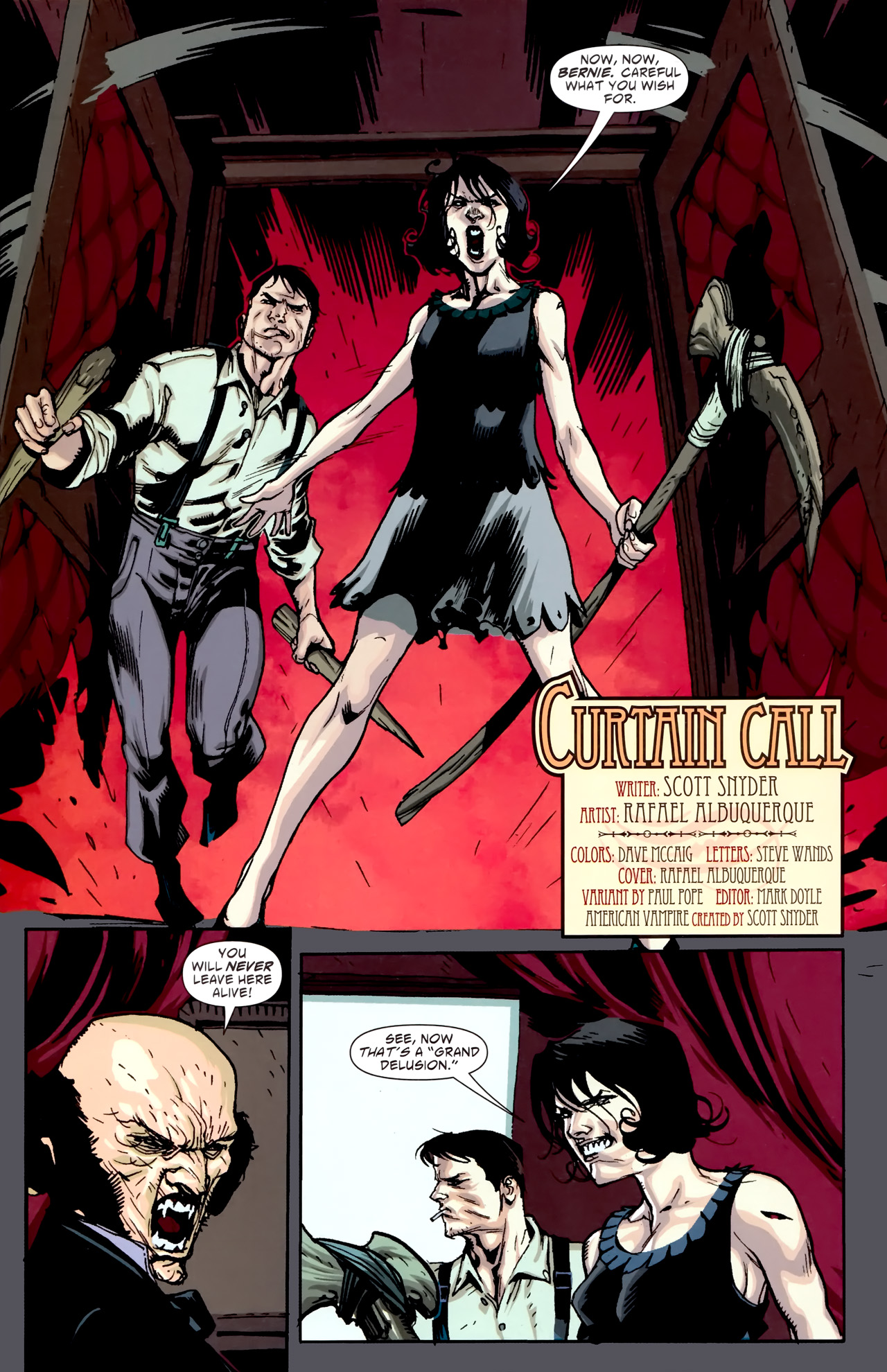 Read online American Vampire comic -  Issue #5 - 5