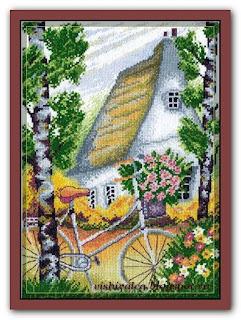 """Марья Искусница 07.004.03 """"Велосипедная прогулка"""""""