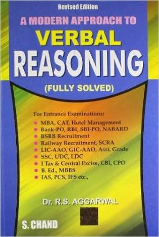 A MODREN APPROACH TO VERBAL REASONING BY R S AGGARWAL