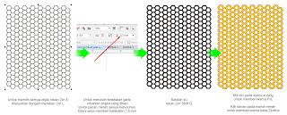 Cara Memberi Warna Texture dengan Corel Draw