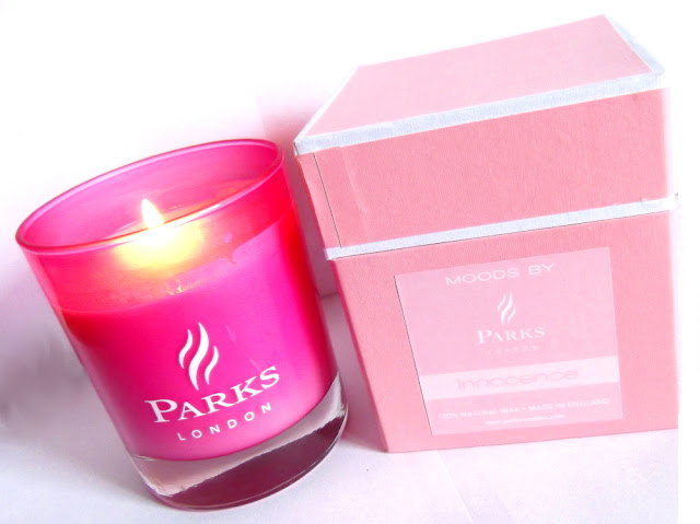 PARKS LONDON Bougie Parfumée Innocence - Pink Candle