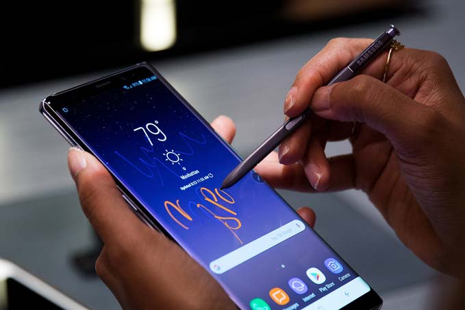 galaxy-note-9-victim-of-a-new-bug