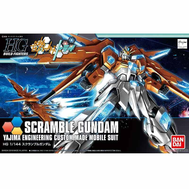 Bandai HG Gundam Scramble Model Kit [1:144]