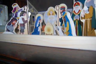 Nativity that your child can play with without you panicking.