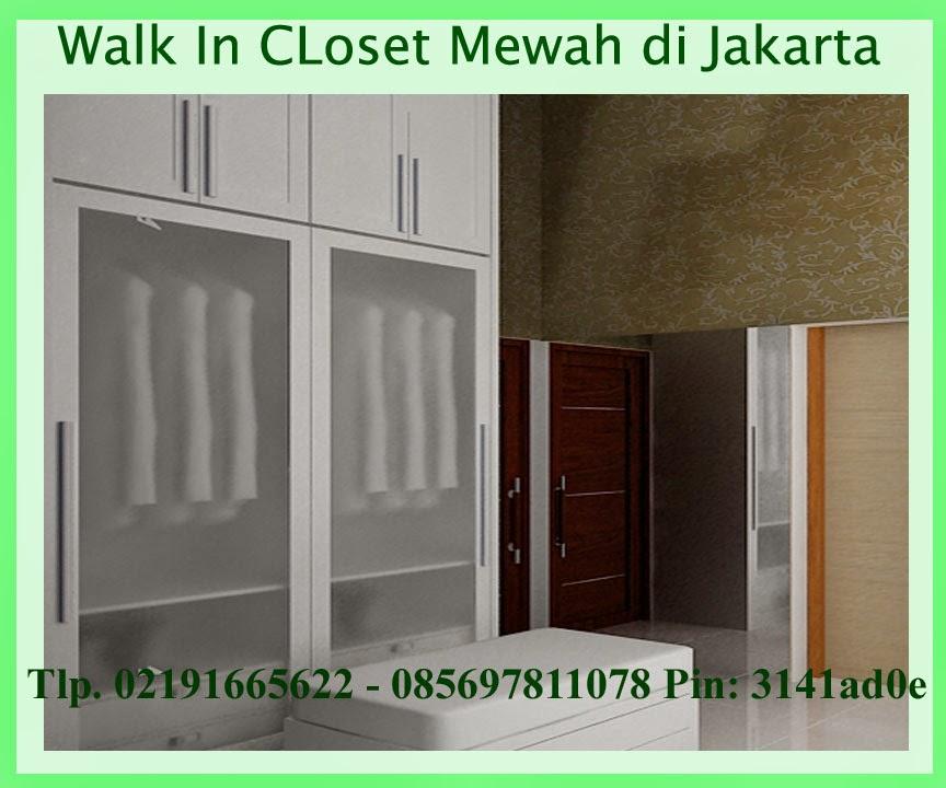 wardrobe walk in closet murah jakarta