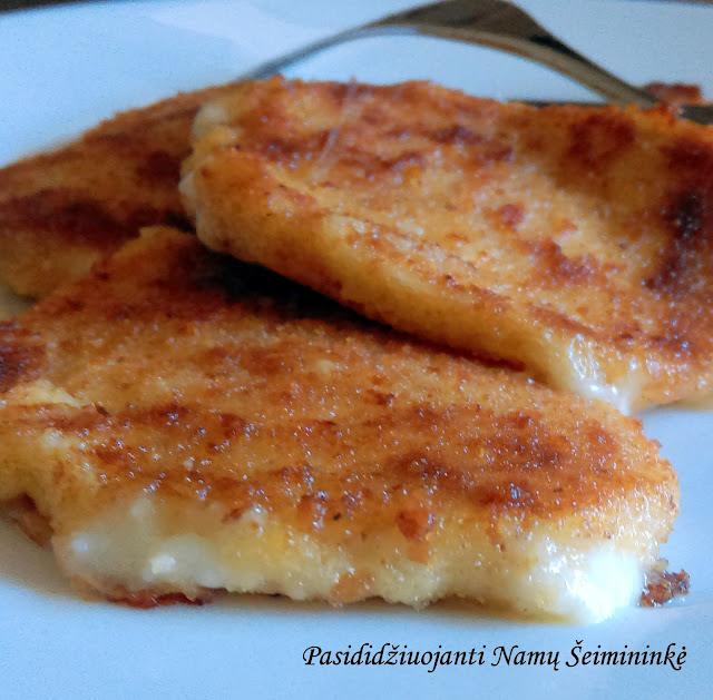 RECEPTAS: Keptas mocarelos sūris