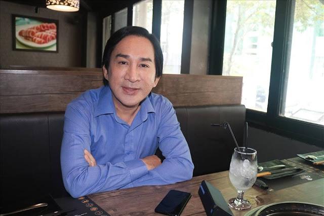 NSUT Kim Tử Long trao đổi với PV Báo Lao Động