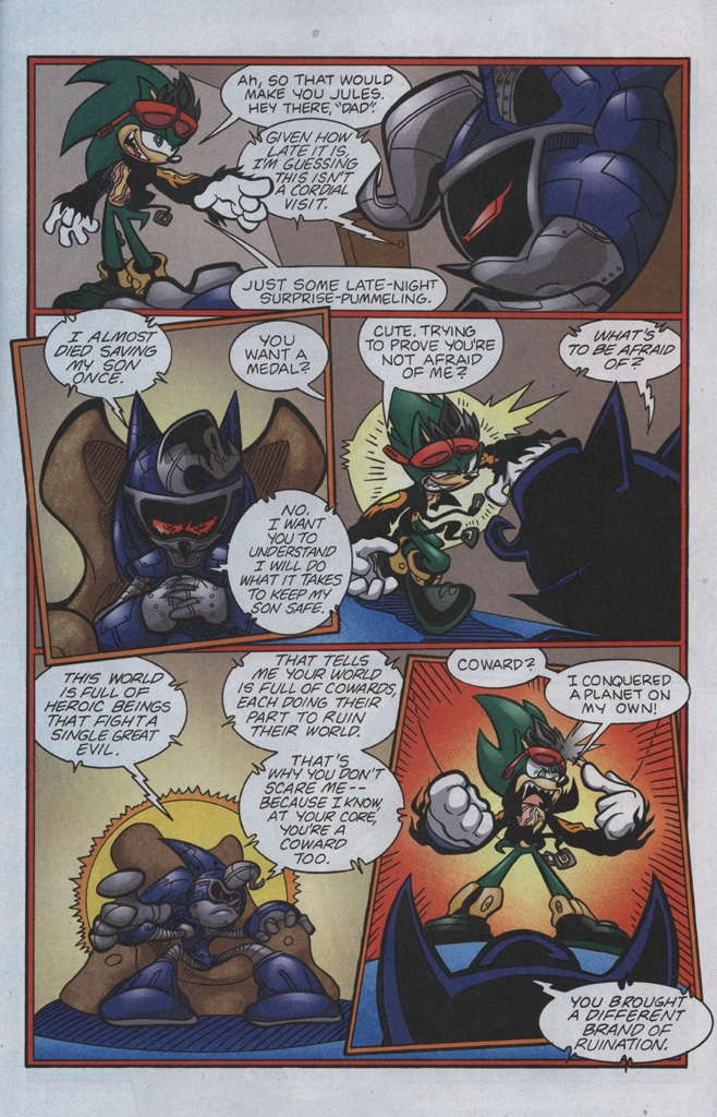 Read online Sonic The Hedgehog comic -  Issue #192 - 22