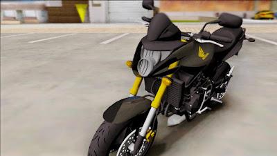 Honda HORNET 2010 ORIGINAL para GTA San Andreas 1