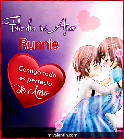 Feliz San Valentín Runnie