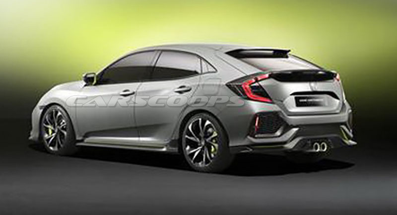 2017 - [Honda] Civic Hatchback [X] - Page 3 Honda-Civic-Concept-Hatch-3