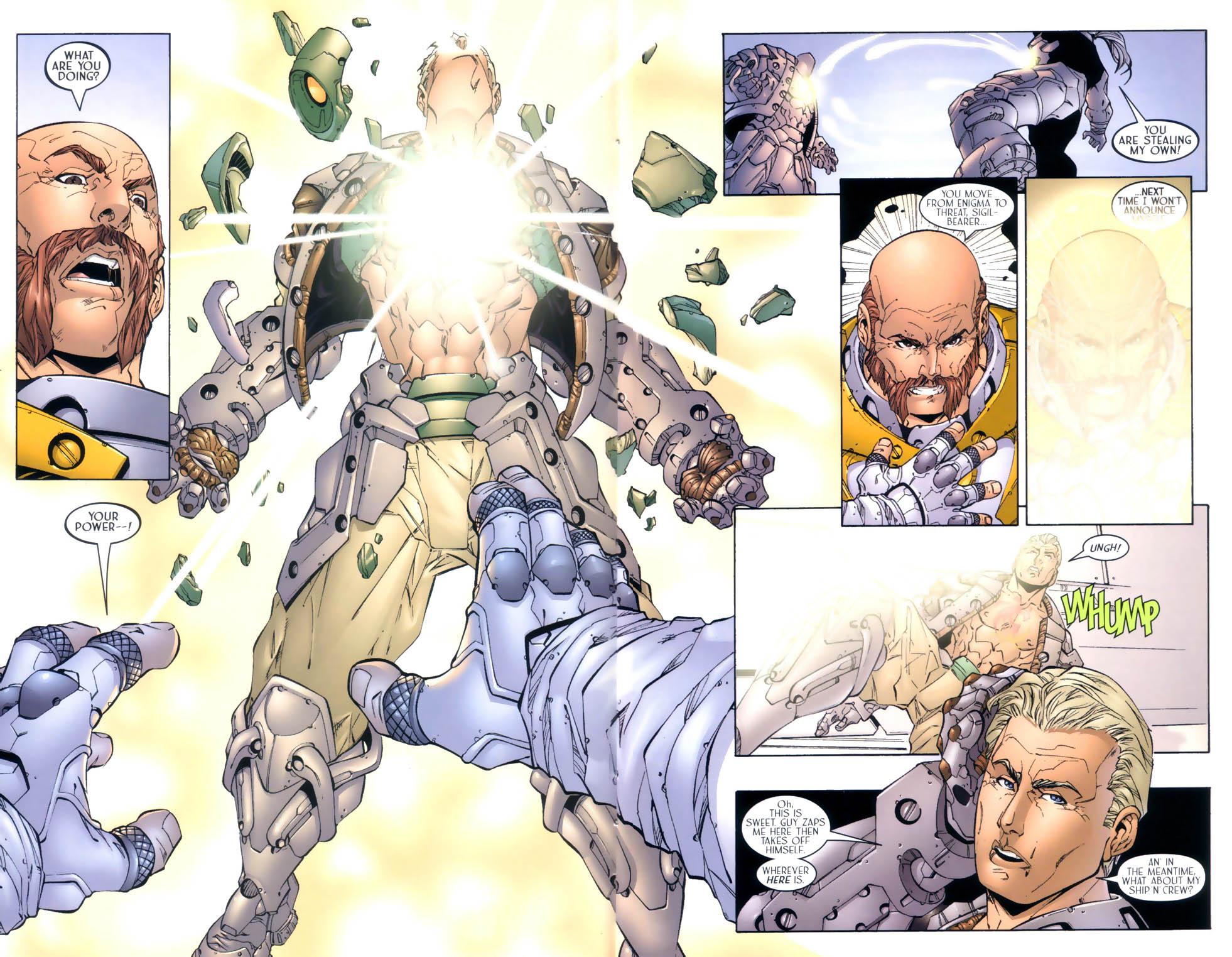 Read online Sigil (2000) comic -  Issue #4 - 16
