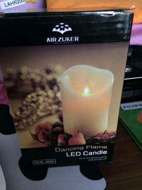 Mona's Blog: Air Zuker LED Kerzen mit beweglicher Flamme ...