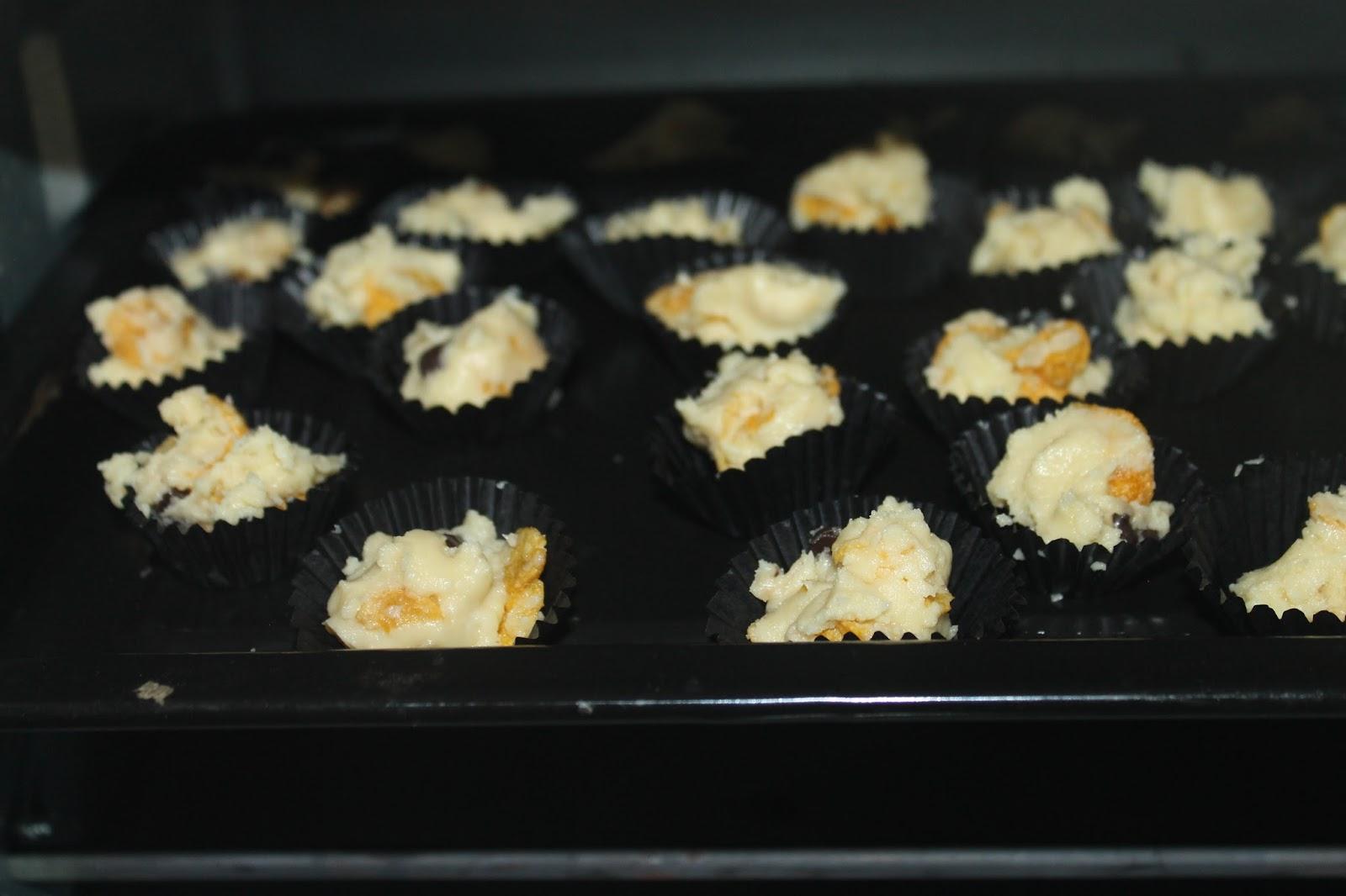 Resepi Biskut dan Kerepek Kellogg's Corn Flakes® versi AyuArjuna, Meh Cuba!