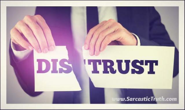 famous Distrust Quotes
