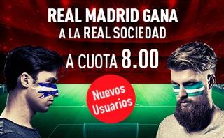 sportium Supercuota 8 Real Madrid vs Real Sociedad 17 septiembre