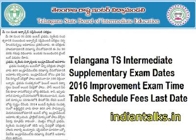 TS- Inter- Supplementary-2016