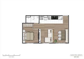 apartamento 1 dormitório pirituba