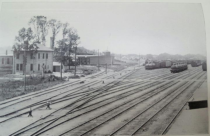 Rock Island Railroad Roundhouse