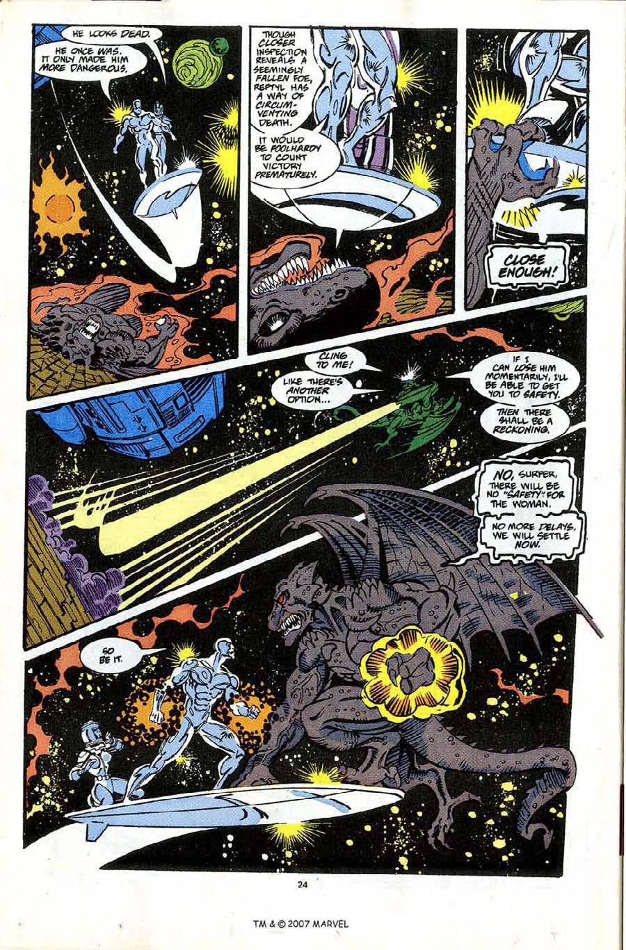 Read online Silver Surfer (1987) comic -  Issue #65 - 26