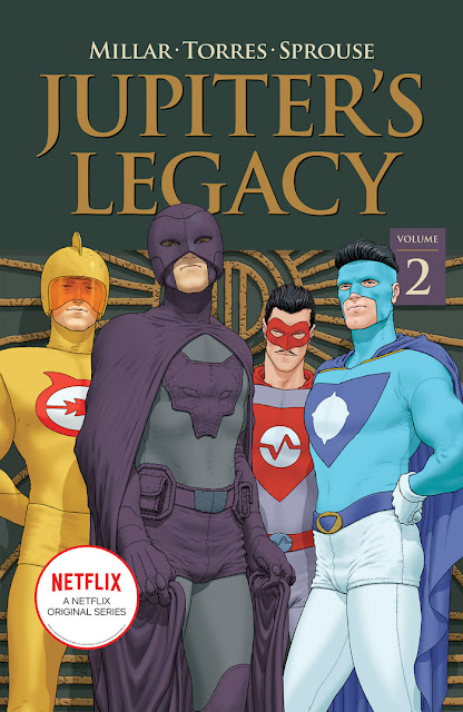 JUPITER'S LEGACY Trade Paperbacks Sent Back to Print!