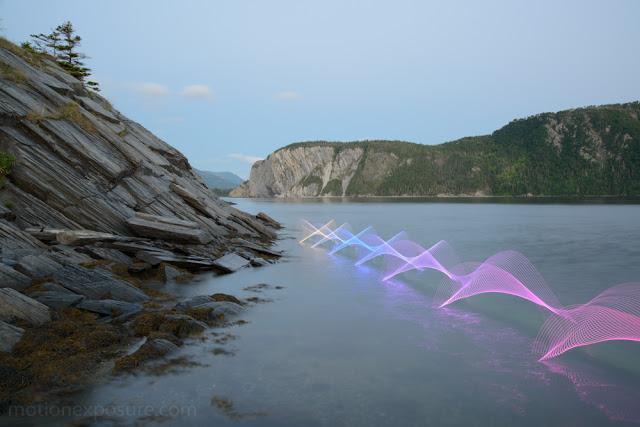 まるでワープのよう?長時間露光で撮られた美し作品7つ【Art】 動きを光にするという作品