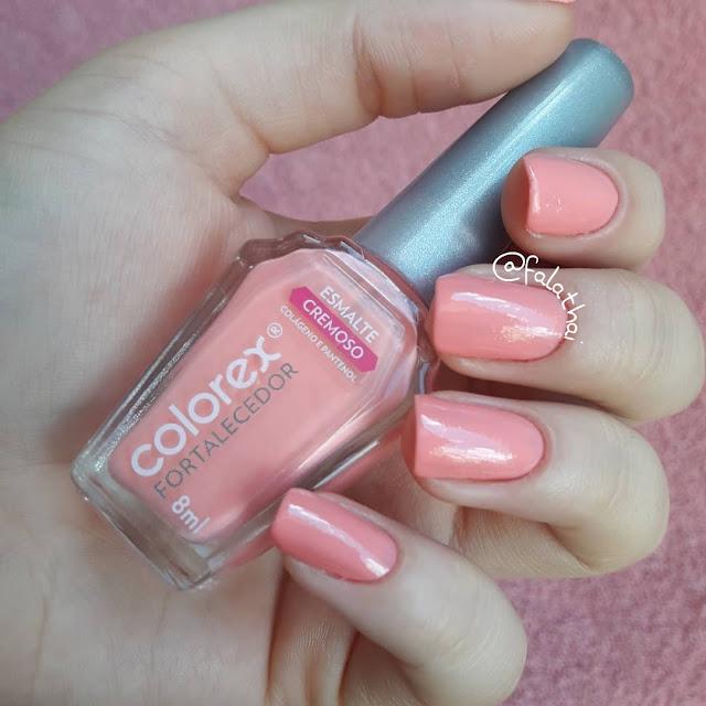 esmalte colorex - cor Luíza
