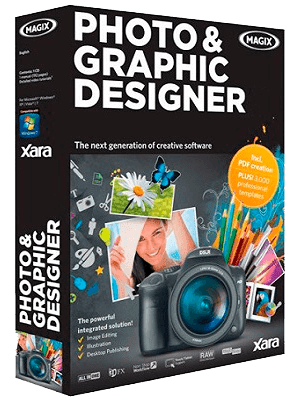Xara Photo & Graphic Designer box