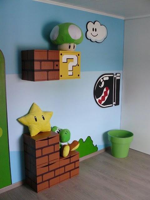 ゲームの世界を現実に持ってきた?家具やアイディア7つ【i】