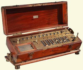 calculadora arithmometre thomas colmar