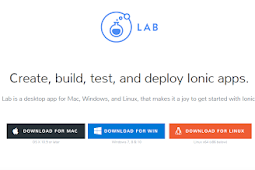 Membangun mobile aplikasi dengan Ionics HTML 5 Hybrid Mobile App Framework