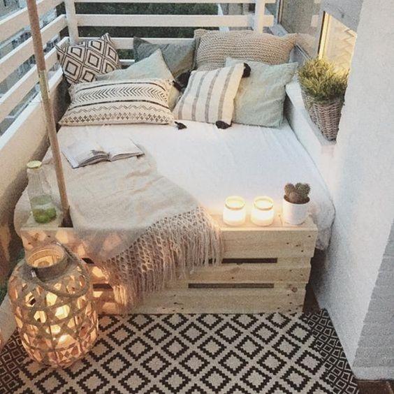 Cómo decorar balcones pequeños-17