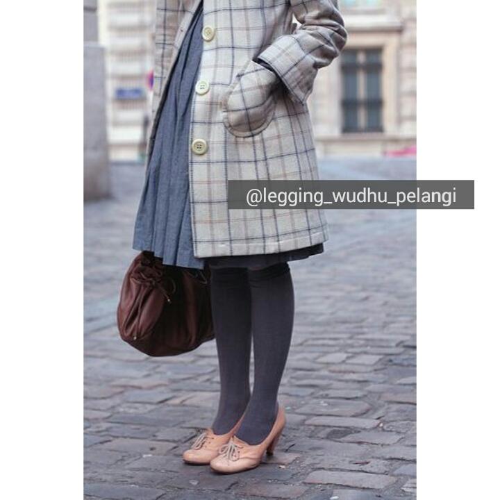 Legging Wudhu Pelangi Trend Celana Muslimah 2016 Legging Wudhu