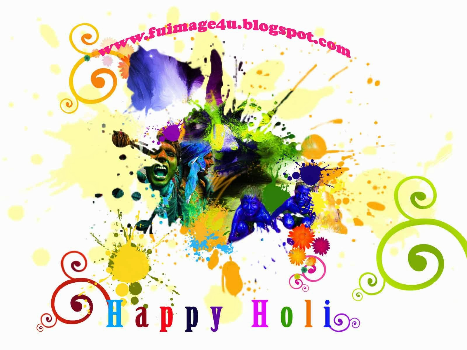 Happy Holi Greeting Cards Poems Messages CommentsHappy Facebook Wall PostHappy Flash Scraps Fb