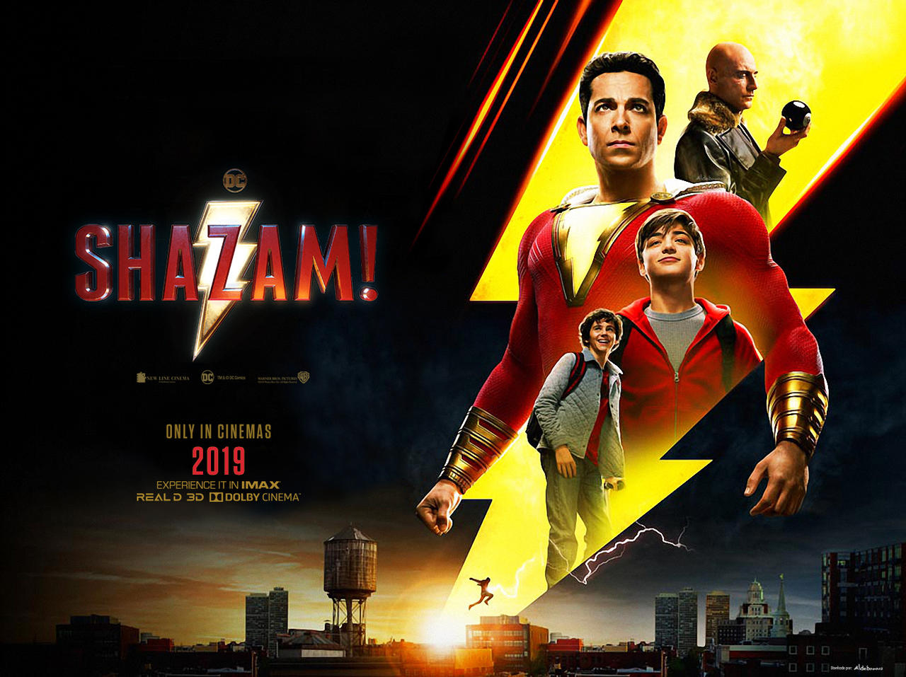 Shazam 2019 Full Movie In Hindi Dubbed bluray