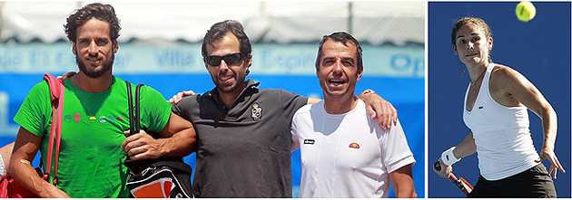 Tenis Aranjuez - Feliciano López, Pato Clavet, Pep Clavet, Virginia Ruano