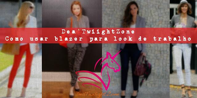 Dea'TwilightZone - como usar roupa de trabalho