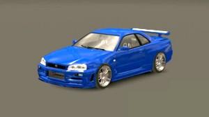 Nissan Skyline GTR R34 car mod v 2.0 improved