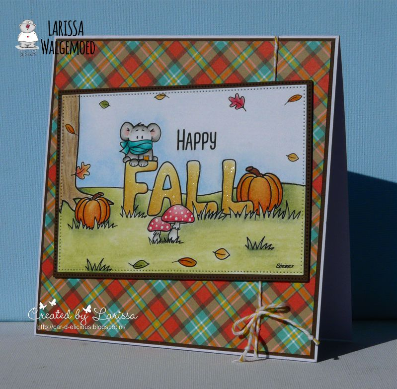 Hi Everyone I Am Larissa From Car D Elicious And Today Posting A New Card On The Blog Gerda Steiner Designs This Time Have Made With