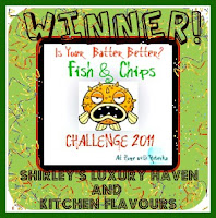 winner of fish and chips recipe challenge luxury haven