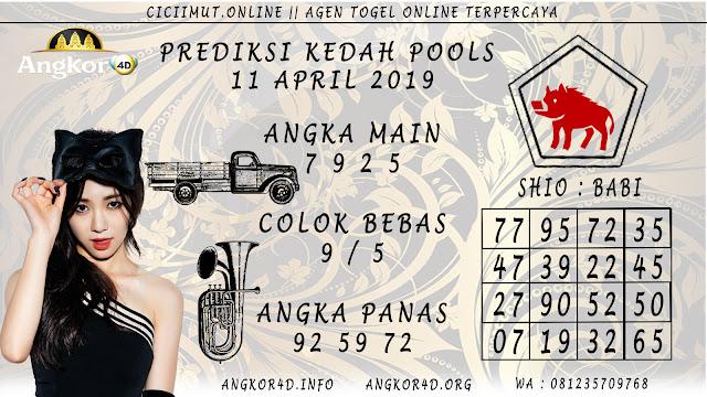 Prediksi Angka Jitu KEDAH POOLS 11 APRIL 2019