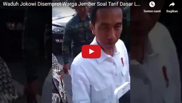 Dibully Warga Soal Tarif Listrik Listrik Yang Semakin Mencekik, Begini Tanggapan Jokowi