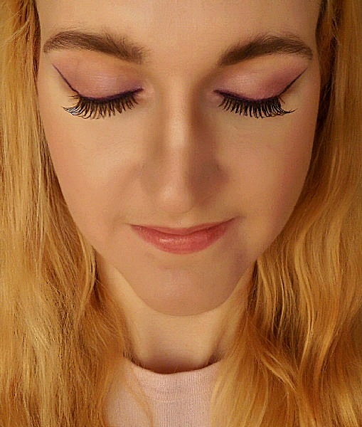 Makijaż - Różowa mgiełka