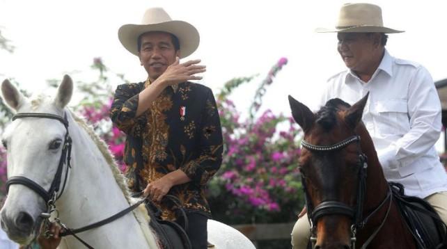 Prabowo Ajak Makan Siang Bersama Jokowi di Istana