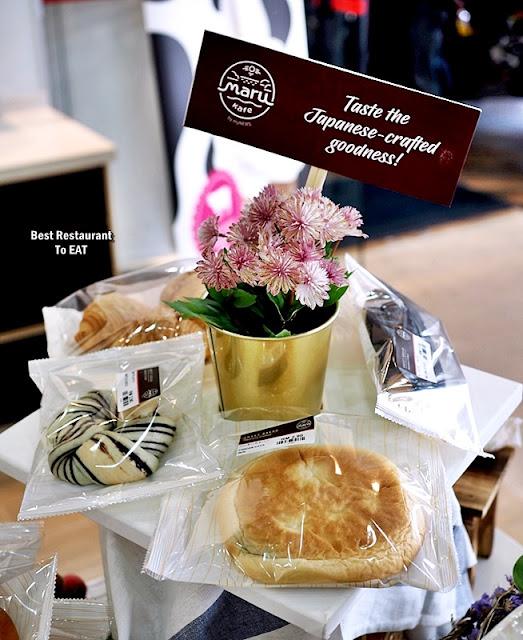 myNEWS Maru Kafe - Bread Selection