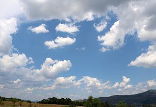 More broken clouds