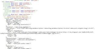 Thêm dữ liệu có cấu trúc NewsArticle vào bài viết trong widget Blog1 version 2